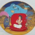 Disney Aladdin Genie Collector Plate Aladdins Wish Bradford Exchange Great Gift