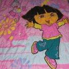 Dora Explorer Boots Quilt Bedspread Flat Fitted Sheet Pillowcase Toddler Crib
