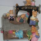 Vintage Sewing Machine Music Box Bears My Favorite Things