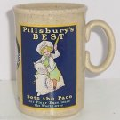 Pillsbury Best Coffee Mug Cup 1986 Collector England Flour Excellence Great Gift
