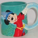 Walt Disney World Mickey Mouse Sorcerer Apprentice Coffee Mug Cup Great Gift