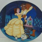 Disney Belle Beauty Beast Collector Plate Potts Princess Learning Love Knowles