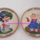 2 Disney Three Little Pigs & Wolf Collector Plates  50th Anniversary LE 15,000