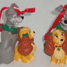Disney Lady Tramp Ornament Christmas Tree Holiday Dog Theme Park NWT