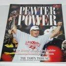 Tampa Bay Buccaneers Book Pewter Power Tampa Tribune Super Bowl 2003 Vintage