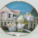 Precious Moments Plate A Cheerful Giver Hamilton Classic Collection Collector