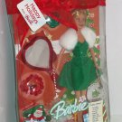 Barbie Holiday Wishes Doll Gift Set 2005 Key Chain Ornament Ring Bracelet Mirror