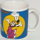 Disney Paris by Night Coffee Mug Minnie Mickey Mouse Donald Duck Goofy Tea Cup