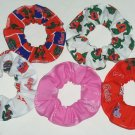 Florida Gators Fabric Hair Scrunchies Ties  2 Sizes