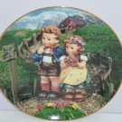 Hummel Collector Plate Country Crossroads Little Companions M I Danbury Mint