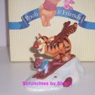 Disney Winnie Pooh Tigger & Roo Figurine Look Out Snow Here We Go MIB Great Gift