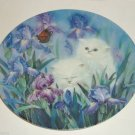 Petal Pals Cats Kittens Flowers Bradford Exchange Plate Garden Discovery George