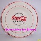 4 Coke Coca Cola Cafe Bowl Dish Soup Salad Bowls Vintage Collectibles Bow;