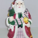 Christmas Santa Claus Cookie Jar Dog Bear Toys Cookies Ceramic Holiday Gift