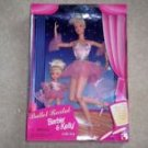 Barbie Kelly Ballet Recital Doll Gift Set 1997 NRFB Vintage Retired Dancer Gift