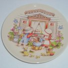Country Kids Moms Are Special Collector Plate Watkins Vintage Mothers Day MIB