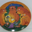Simpsons Maggie Bears Collector Plate Franklin Mint Retired Vintage