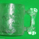 Flintstones McDonalds Pre Dawn Glass Mug 1993 Vintage Fast Food Cup