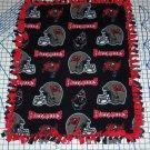 Tampa Bay Buccaneers Fleece Throw Blanket Football NFL