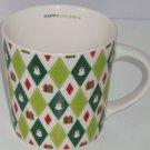 Starbucks Christmas Coffee Mug 2003 Snowman Presents Retired Cup Barista