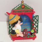 Disney Pinocchio Ornament Wishing Upon a Star  Enesco Gift MIB Lights Up