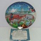 Walt Disney World Collector Plate 25th Anniversary All Aboard Fun Bradford Gift