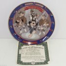 Disney Collector Plate Mickey Minnie Mouse Through Years Mouse Club Bradford