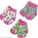 Vera Bradley Tutti Frutti Baby Socks Girls 0-12 Months Shower Gift Boxed