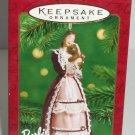 Hallmark Victorian Barbie Ornament Doll 2001 Christmas Vintage Retired
