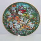 Pepsi Cola Collector Plate Easter Greeting Franklin Mint Vintage Retired