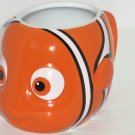 Disney Store Finding Nemo Mug Clown Ceramic Coffee Cup Figural  NEW
