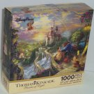 Disney Parks  Beauty Beast Belle Puzzle Thomas Kinkade 1000 Pieces Falling Love