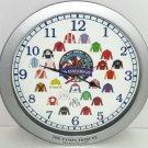 Tampa Bay Derby Downs Clock Horse Racing Jockey 25th Anniversary Tribune 2005