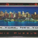 New York Puzzle Glow Dark Panoramic 3' Wide 750 Pieces New City Skyline Empire