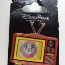 Disney Mickey Mouse Club TV Set Trading Pin Theme Parks New Carded