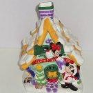 Disney Mickey Mouse Minnie Goofy Santas Workshop Christmas Cookie Jar Retired