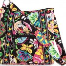 Disney Vera Bradley Midnight with Mickey Mouse Hipster Purse Black NWTS