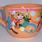 Disney Store Goofy Coffee Mug Cup Orange Retired Great Gift New