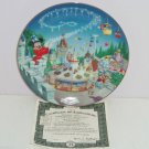 Walt Disney World Fantasyland Collector Plate 25th Anniversary Bradford Exchange