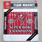 Tampa Bay Buccaneers Magnet Football Super Bowl Car NFL Vintage NIP Great Gift