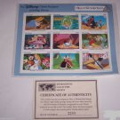 Disney Classic Fariytales in Postage Stamps Alice in Wonderland Grenada