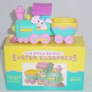Crayola Bunny Eggspress Hallmark Easter Train 1993 Vintage Retired Colorful