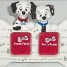 Disney 101 Dalmatains Photo Frame Picture Ceramic Dog Puppies Puppy