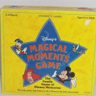 Disney Migical Moments Board Game Vintage 1991 All Dinsey Characters
