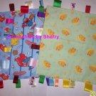 Sesame Street Elmo Big Bird Fabric Ribbon Blanket Baby