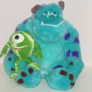 Disney Sulley Mike Plush Set Monsters Inc. University Theme Parks NWTS