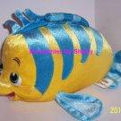 Disney Flounder Plush Ariel Little Mermaid Theme Paks Stuffed Animal Fish