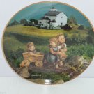 Hummel Collector Plate July Summer Stroll Calendar Collection M I Danbury Mint