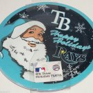 4 Tampa Bay Rays Dinner Plate Melmac MLB Malemine Christmas Santa Holiday
