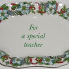Spode Trinket Tray Special Teacher Dish Plate Porcelain Holiday Gift
